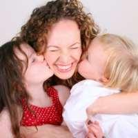 Mama cu copiii