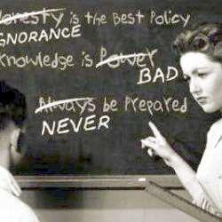 Autoritatea vs educatia