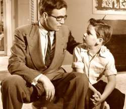 Discutie tata copil