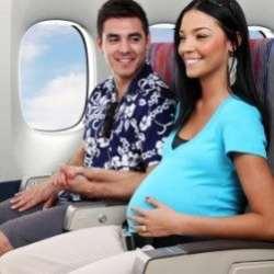 Calatoria cu avionul in timpul sarcinii