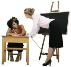 Profesor cu elev
