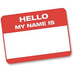 Eticheta nume