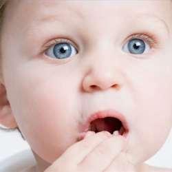 Bebelus baga in gura
