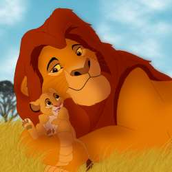 Leul cu puiul