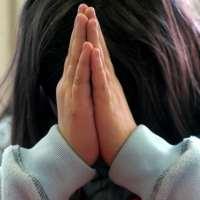 Copil care se roaga
