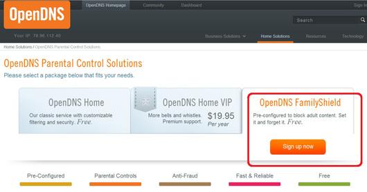 Configurare OpenDns pasul 3