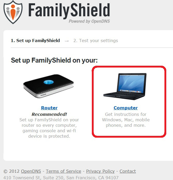 Configurare OpenDns pasul 5